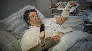 Marianne Wikman, 79, blev misshandlad på nyårsafton. Foto: NORA LOREK